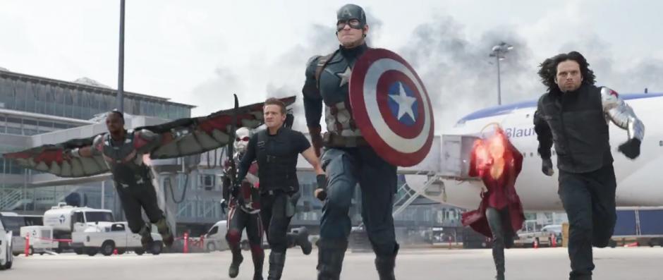 Los superhéroes luchan por el bien, pero pelean entre ellos.  (Imagen: Marvel)
