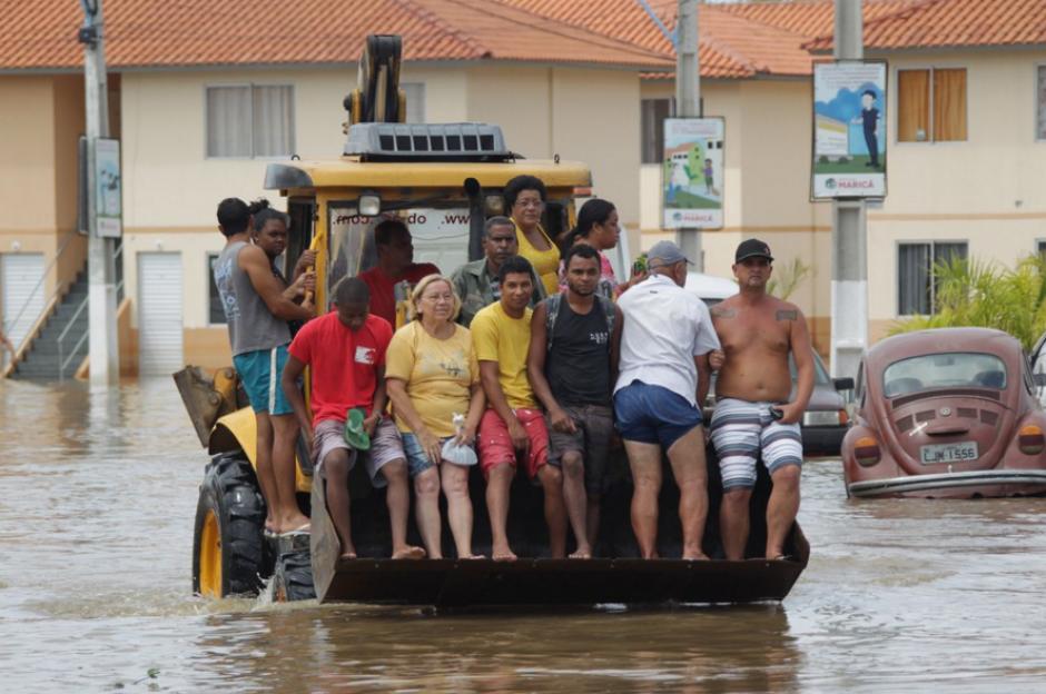 Las lluvias dejaron al menos 15 muertos, una decena de heridos y varias ciudades inundadas(Foto: Agencia Xinhua)