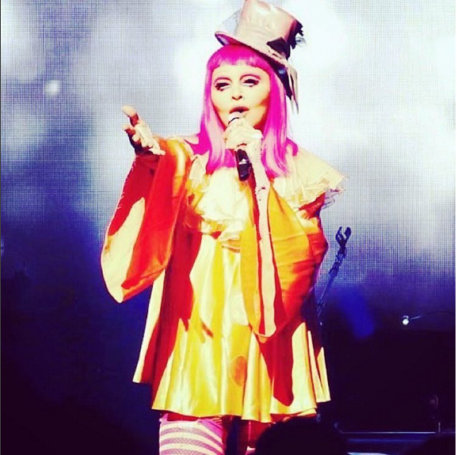 """La """"Reina del pop"""" se presentó en Australia el pasado 10 de marzo. (Foto: Instagram/madonna)"""