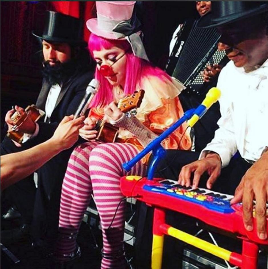Su participación incluyó música, arte, comedia y performance. (Foto: Instagram/madonna)