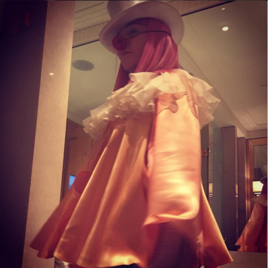 Según la artista, su vestimenta obedeció a la situación que está viviendo. (Foto: Instagram/madonna)