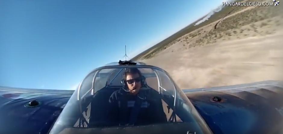 Cada vuelta que el piloto da provoca vértigo. (Imagen: British Mania)