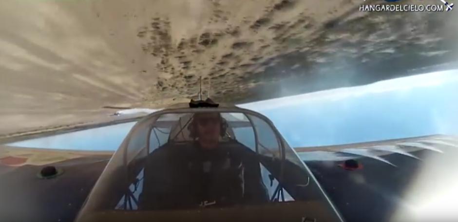 Un piloto argentino muestra su destreza. (Imagen: British Mania)