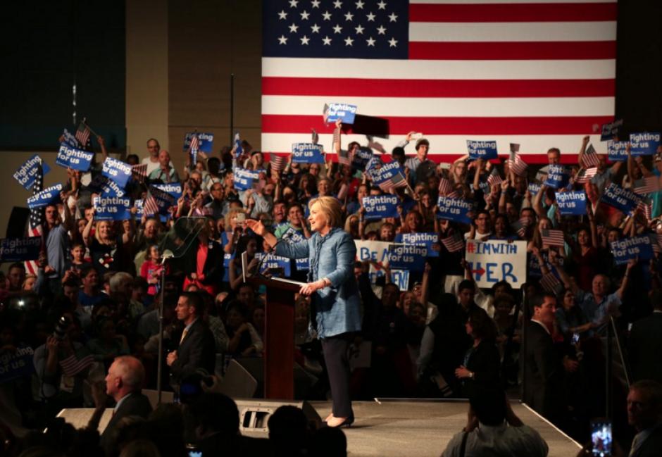 Hilary Clinton ganó por el lado demócrata las primarias en Florida. (Foto: Univisión)