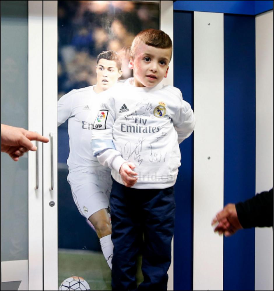Ahmad sobrevivió a un atentado en julio de 2015. (Foto: Real Madrid)