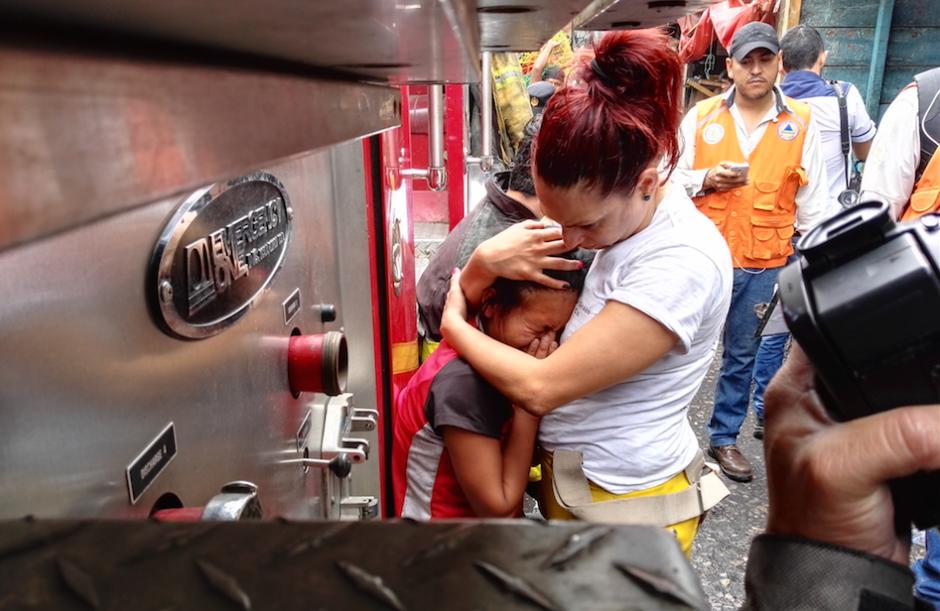 La Bombero tiene cuatro años de servicio en los Voluntarios. (Foto: Gustavo E. Méndez)