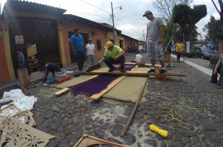 Dependiendo de los materiales puede demorar algunas horas. (Foto: Fredy Hernández/Soy502)