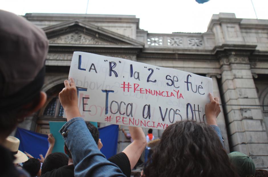 El pueblo guatemalteco se volcó contra los políticos en 2015. (Foto: Archivo)