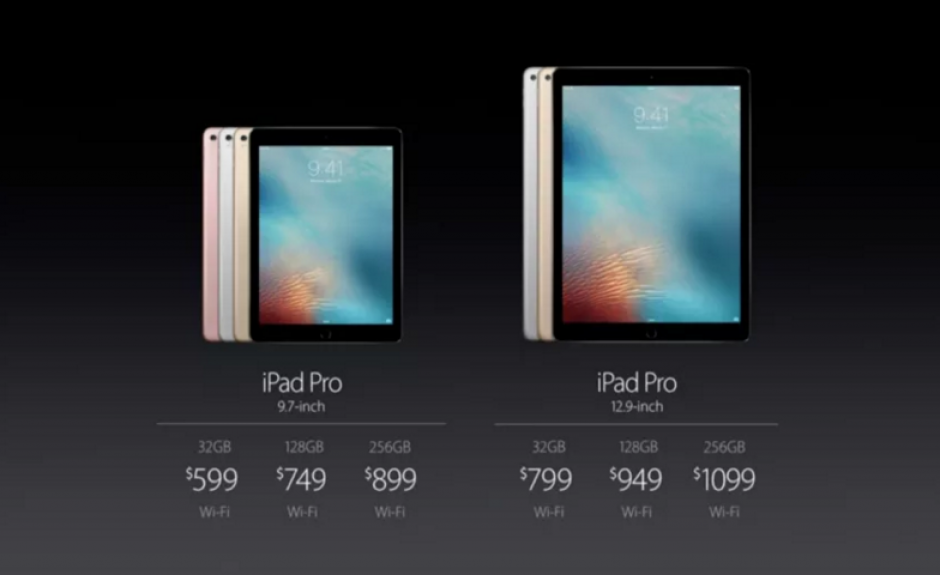El iPad Pro fue lanzado en el Apple Event 2016. (Foto: sopitas.com)