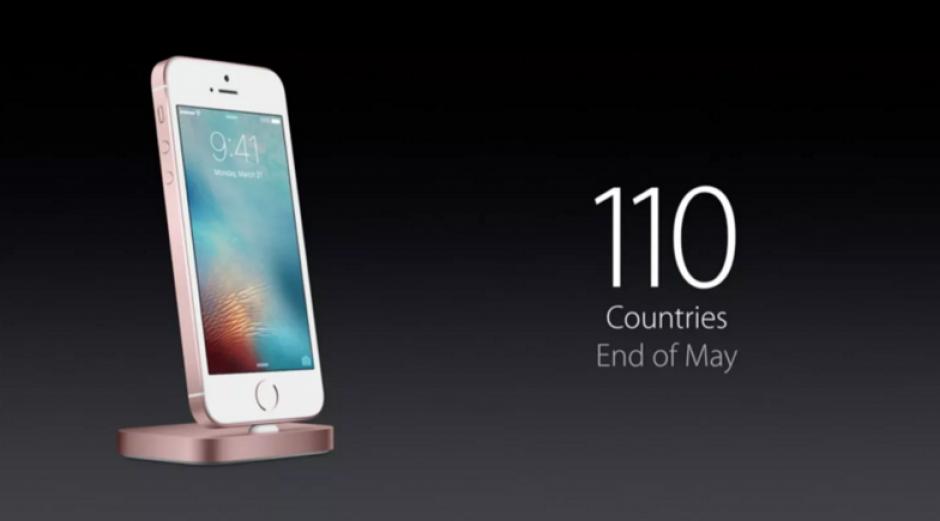 El iPhone SE llegará a 110 países a finales de mayo. (Foto: sopitas.com)