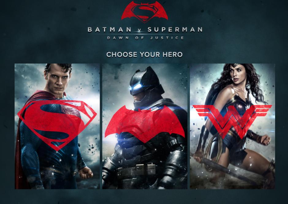 El trio formado por Batman, Superman y la Mujer Maravilla. (Foto: Sitio web Batman v Superman)