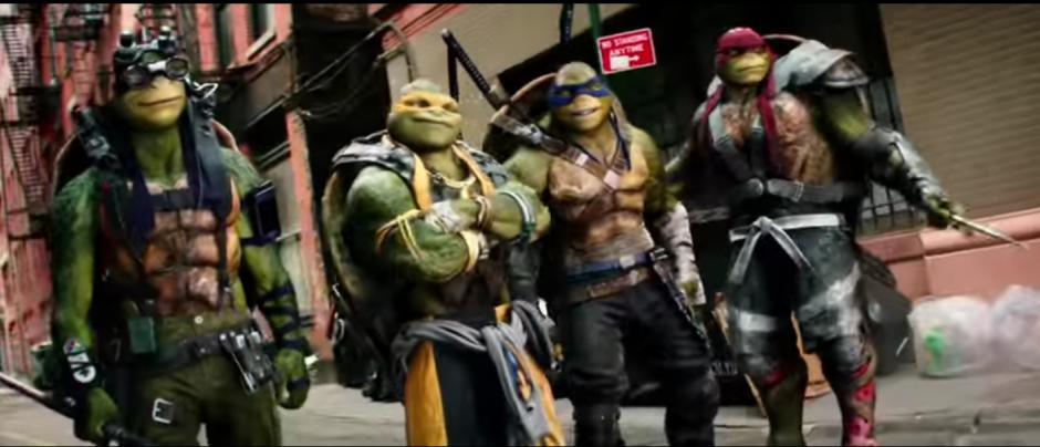 Esta es la nueva aventura de los cuatro hermanos mutantes. (Imagen: Captura de YouTube)