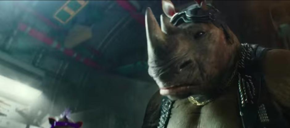 Bebop es un mutante mitad humano y mitad rinoceronte. (Imagen: Captura de YouTube)