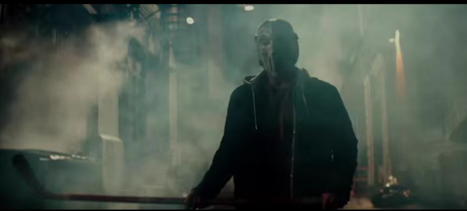 Casey Jones, es un luchador profesional con una máscara de hockey. (Imagen: Captura de YouTube)