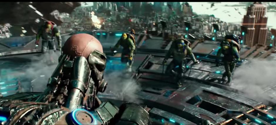 Los cuatro hermanos enfrentarán una amenaza mutante. (Imagen: Captura de YouTube)