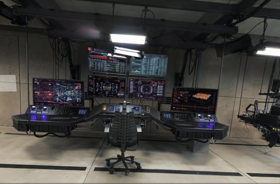 Así luce la sala de control de la Baticueva. (Imagen: Googlemaps)