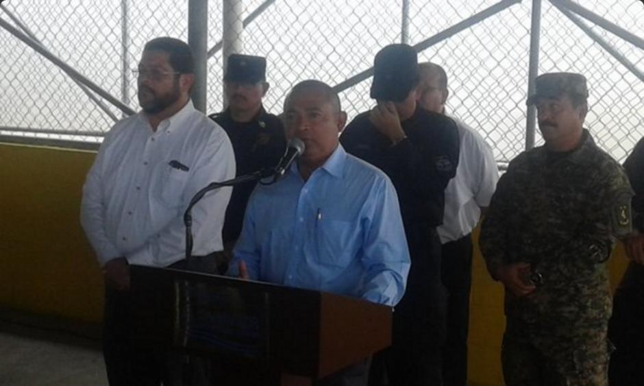 Mauricio Ramírez, Ministro de Seguridad de El Salvador. (Foto: Twitter/@presidencia_sv)