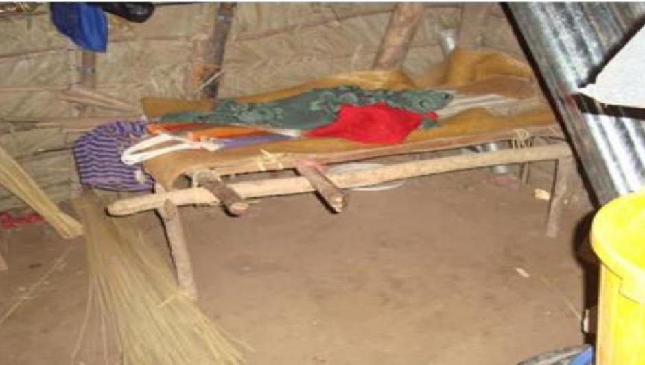Las familias de los niños carecen de las condiciones básicas de vida. (Foto PDH)