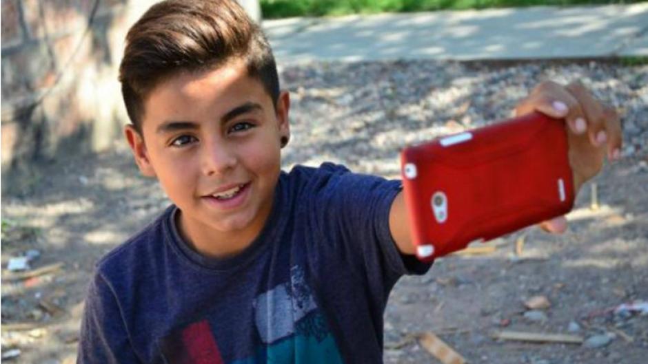 Tomás, de 13 años, fue uno de los niños que aparece en el video. (Foto: diariodecuyo.com.ar)