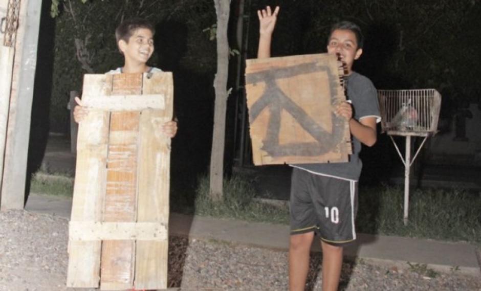 Luciano y Alejo contaron cómo armaron la casita que los hizo famosos. (Foto: Tiempo de San Juan)