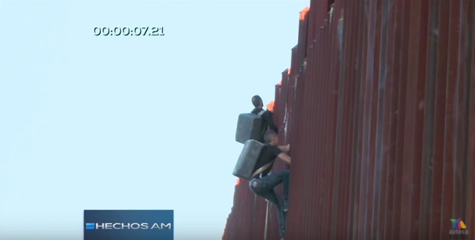 Hombres araña ingresan droga de México a Estados Unidos foto