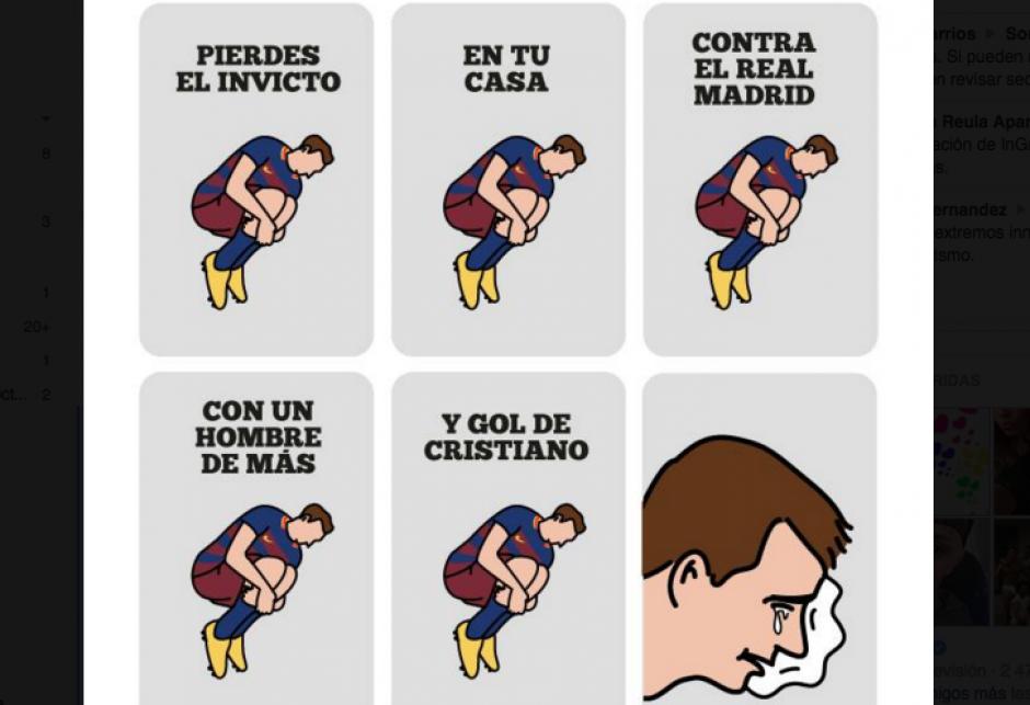 Los aficionados del Barcelona sufrieron al final del juego. (Foto: Pictoline.com)