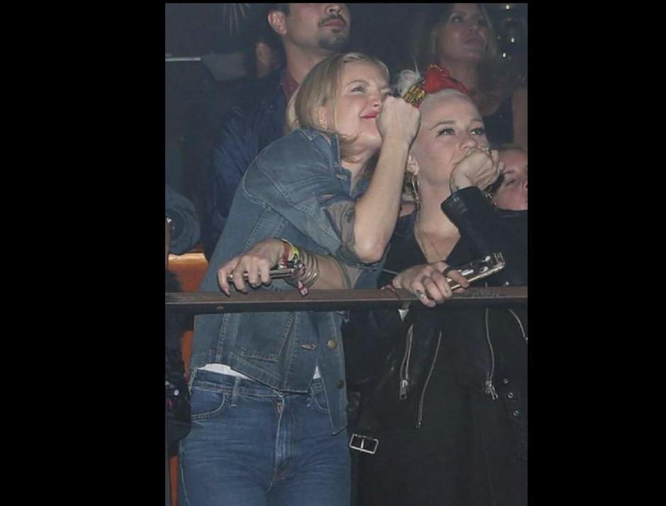 Kate Hudson fue una de las celebridades que asistió al concierto. (Foto: TMZ)