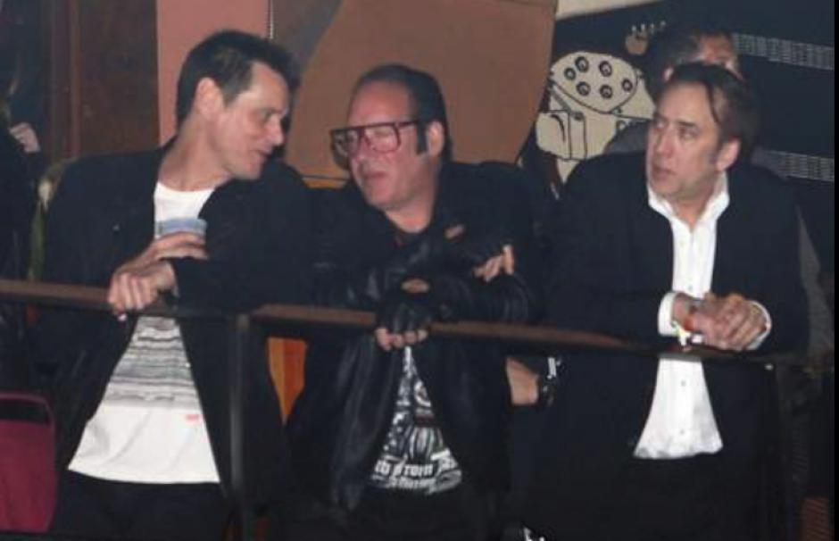 Entre los artistas estaban Jim Carrey y Nicolas Cage. (Foto: TMZ)