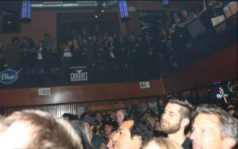 Los artistas disfrutaron del concierto desde el palco. (Foto: TMZ)