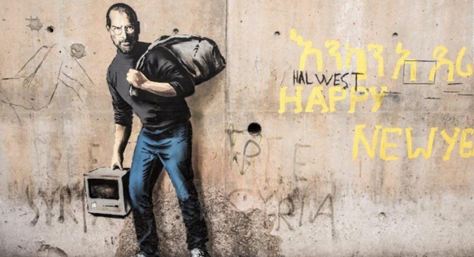 En California subastaron varias obras del misterioso grafitero Banksy. (Foto: mott.pe)