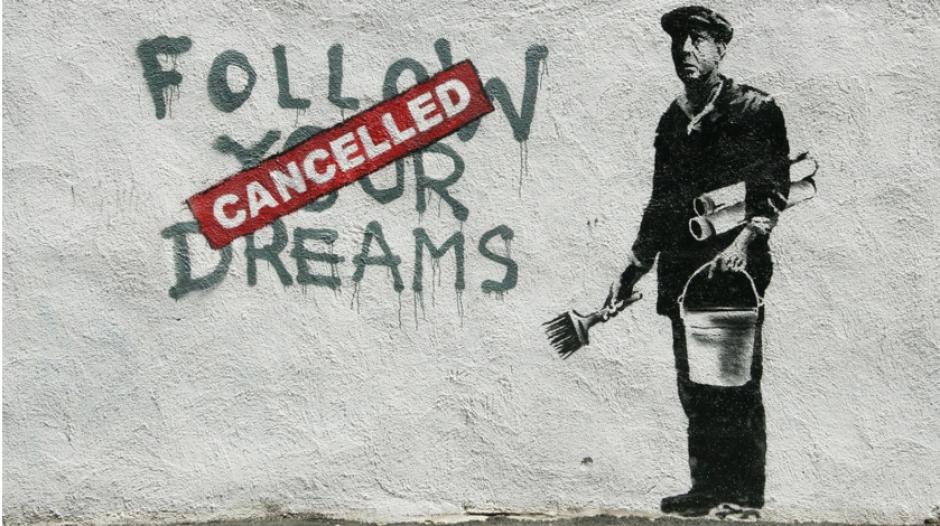 La identidad secreta de Banksy, en peligro por una técnica matemática. (Foto: mott.pe)