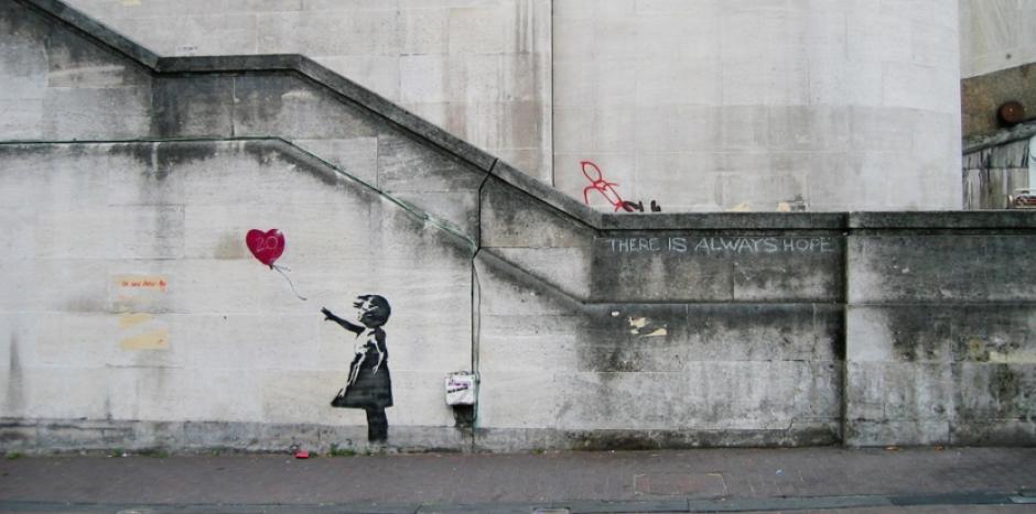 Banksy es toda una leyenda en el mundo del grafiti. (Foto: mott.pe)