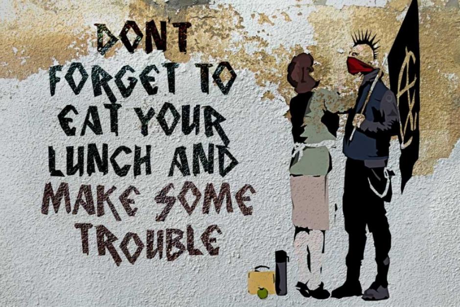 Banksy es el pseudónimo de un artista callejero del que no se conocía su identidad real. (Foto: mott.pe)