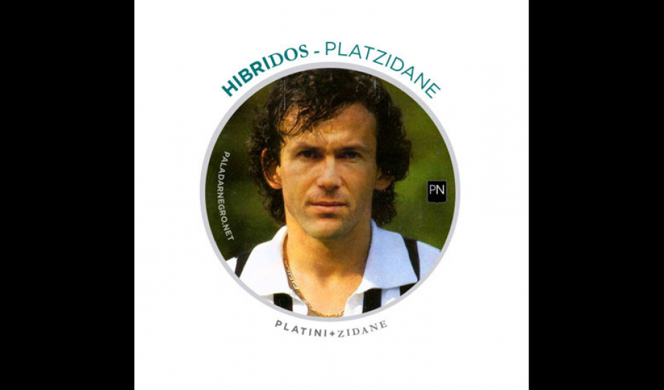 Platini + Zidane = Platzidane. (Imagen: paladarnegro.net)