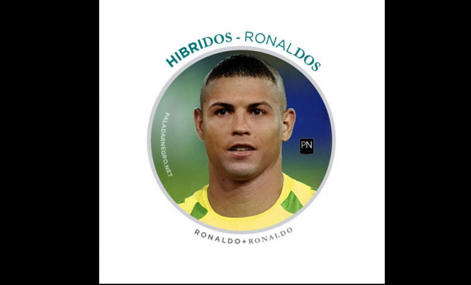 Ronaldo + Cristiano Ronaldo = Ronaldos. (Imagen: paladarnegro.net)