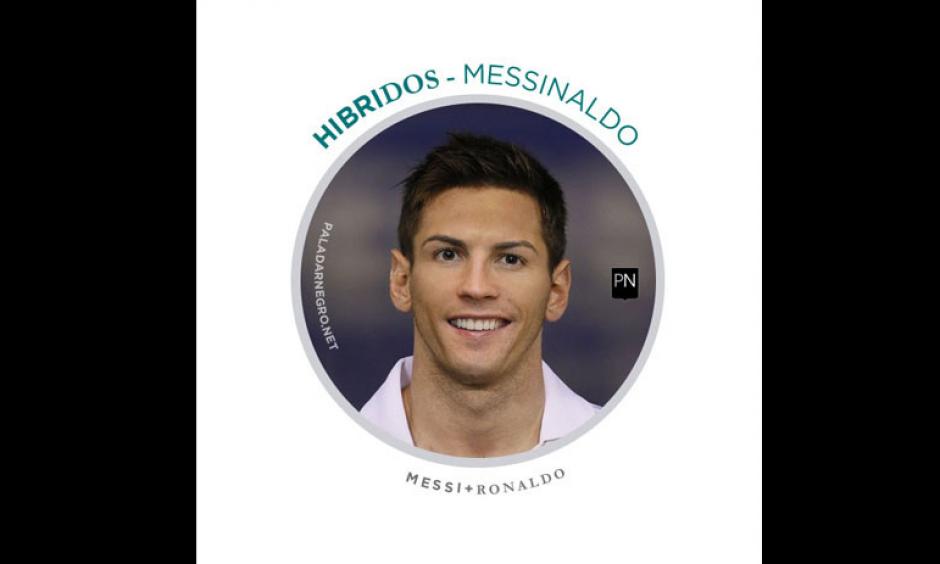Messi + Cristiano Ronaldo = Messinaldo. (Imagen: paladarnegro.net)