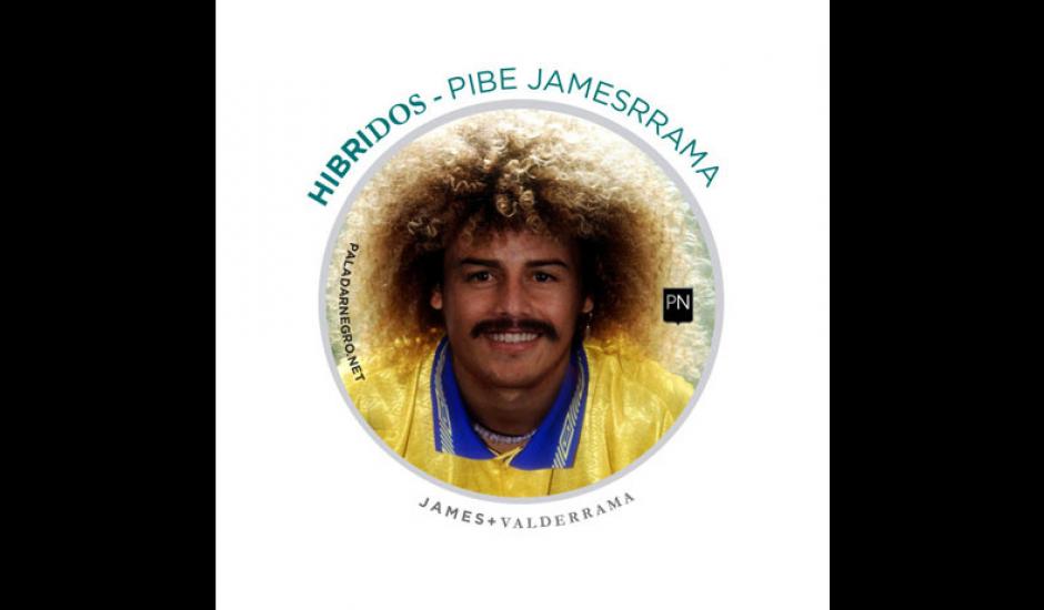 James + Valderrama = Pibe Jamesrrama. (Imagen: paladarnegro.net)