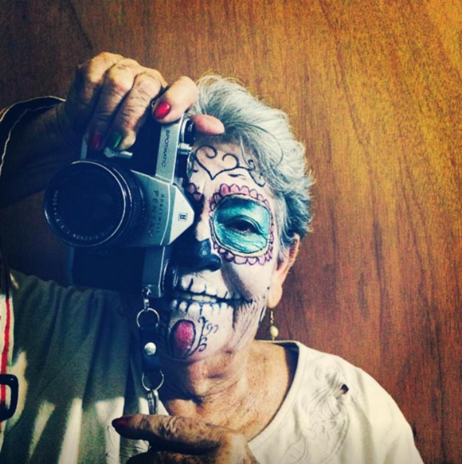 María asegura que al día toma aproximadamente 50 fotos. (Foto: Instagram)
