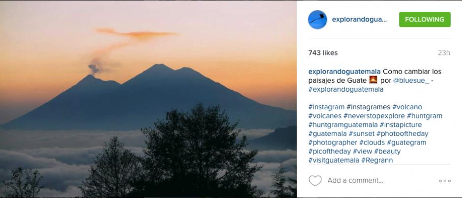 """""""Explorando Guatemala"""" hace honor a su nombre con las tomas de sus colaboradores. (Captura Explorando Guatemala)"""