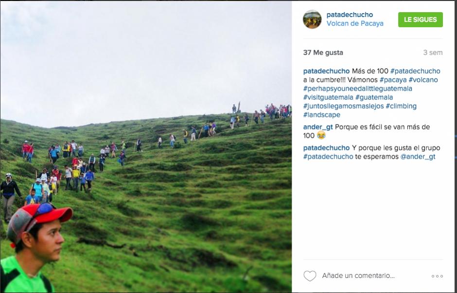 """Los de """"Pata de Chucho"""" sí se toman muy en serio su nombre. (Captura Instagram Pata de Chucho)"""