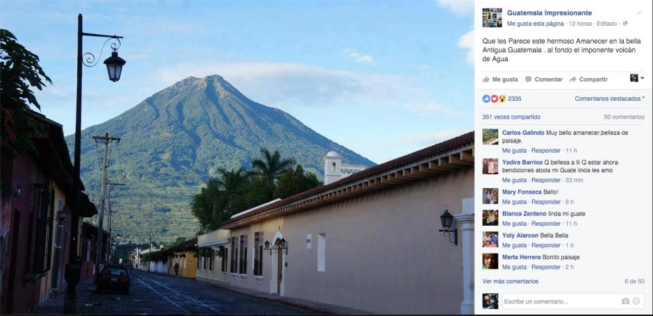 """""""Guatemala Impresionante"""" nos regala momentos únicos que todos debemos experimentar. (Captura Guatemala Impresioante)"""