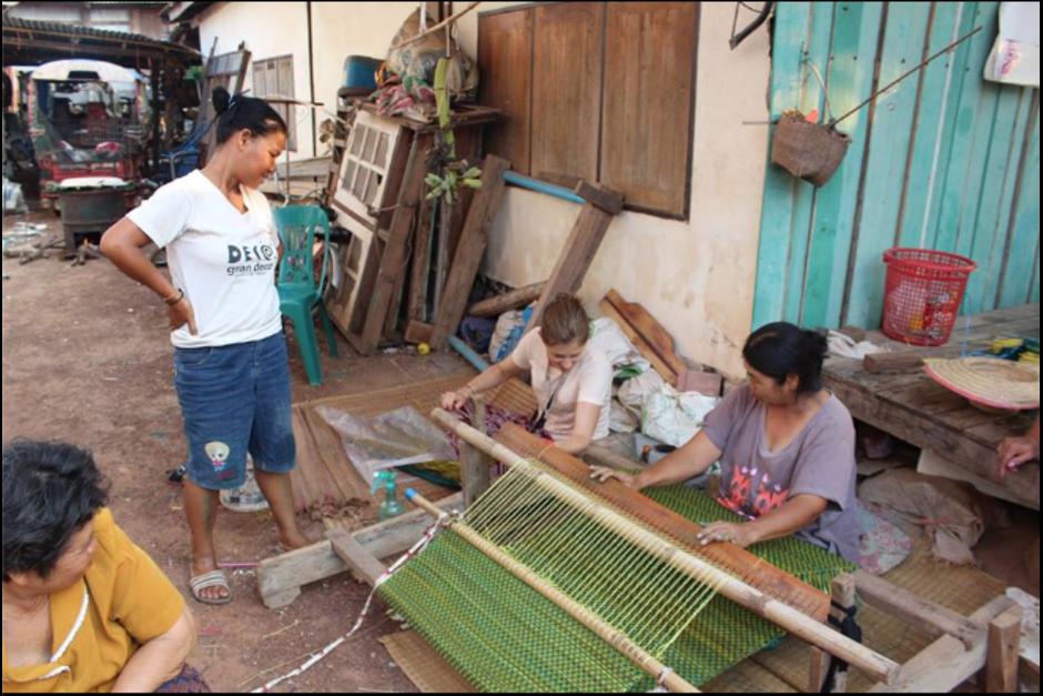 En Tailandia puedes aprender directamente con la comunidad. (Foto: Volunt2Thai)