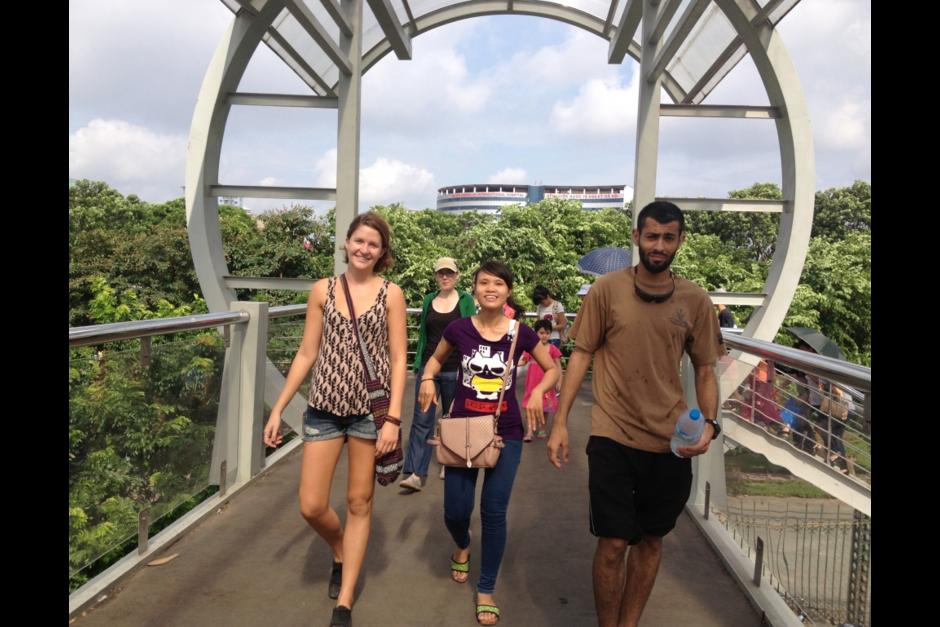 El voluntariado en Vietnam te permite mejorar tu práctica de inglés. (Foto: CVTD)