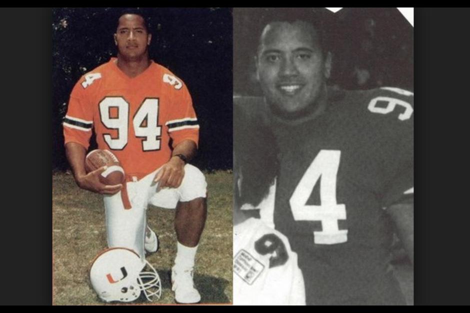 Antes de dedicarse a la actuación jugó fútbol americano en la Freedom High School en Pensilvania. (Foto: www.grancinema.net)