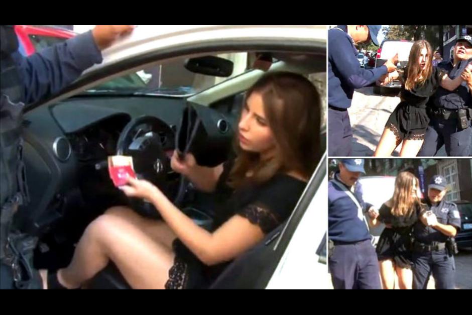 La mujer tuvo un accidente por conducir en estado de ebriedad. (Foto: soytotalmentechilango.com)