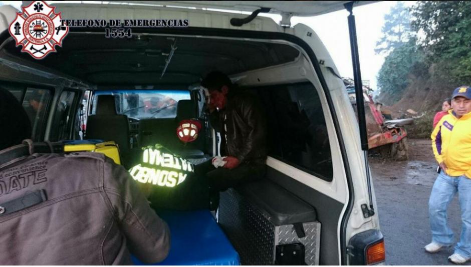 Más de 30 personas resultaron heridas en dos percances viales. (Foto: Bomberos Municipales Departamentales)