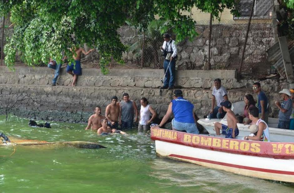 Las autoridades creen que se trata del padre del menor muerto. (Foto: Juan Carlos Torres/Nuestro Diario)