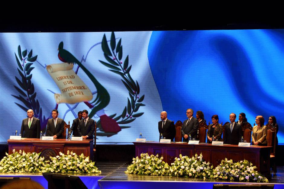 El presidente Jimmy Morales hizo un llamado para que todos los sectores se involucren en este esfuerzo. (Foto: Jesús Alfonso)
