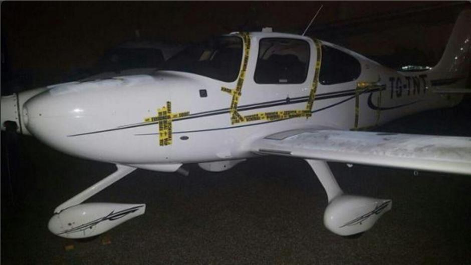 Los aparatos se encontraban en el sector privado del aeropuerto. (Foto: Nuestro Diario)