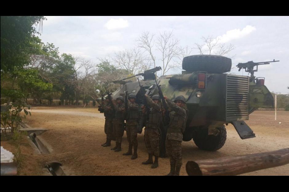 Guatemala movilizó sus tropas después del incidente. (Foto: Ejército)